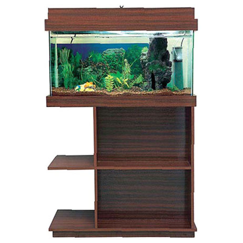 acuario con mueble y tapa de luz 80 x 40 x 31 cm sodimac com