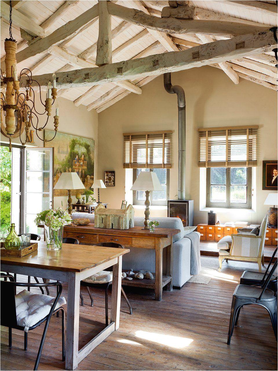 Muebles Rusticos En Dallas Texas De Vieja Escuela A Casa Rural Living Rooms Pinterest House