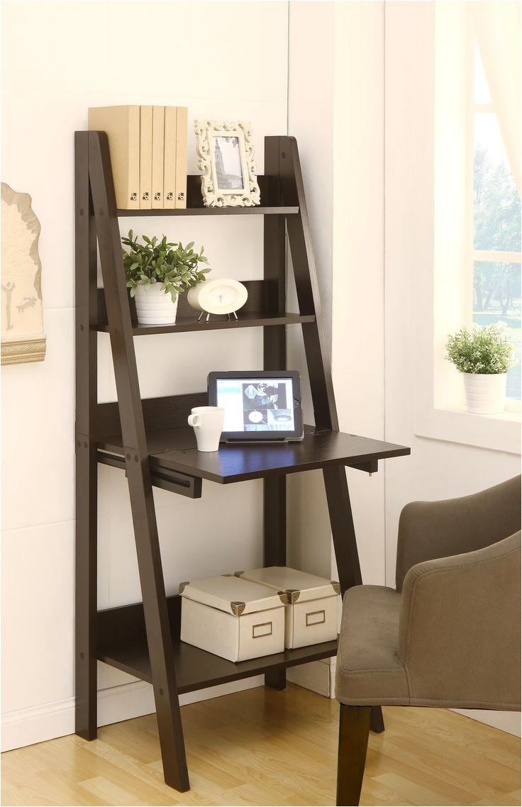 hokku designs stanton ladder style writing desk with shelves wayfair