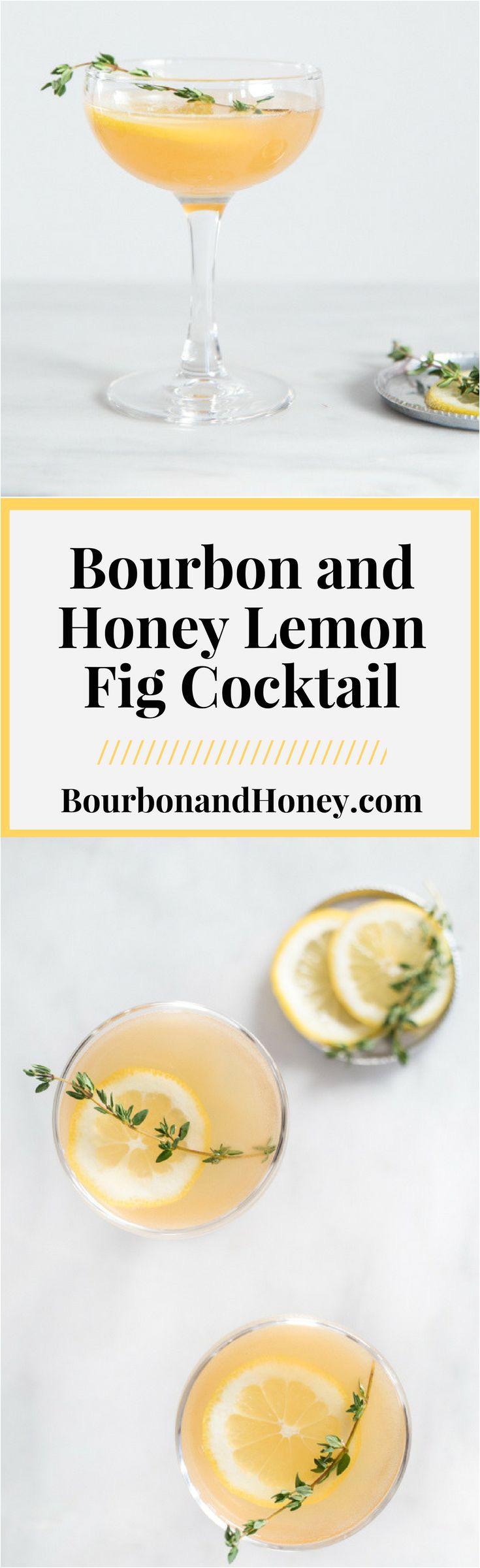 lemon fig cocktail