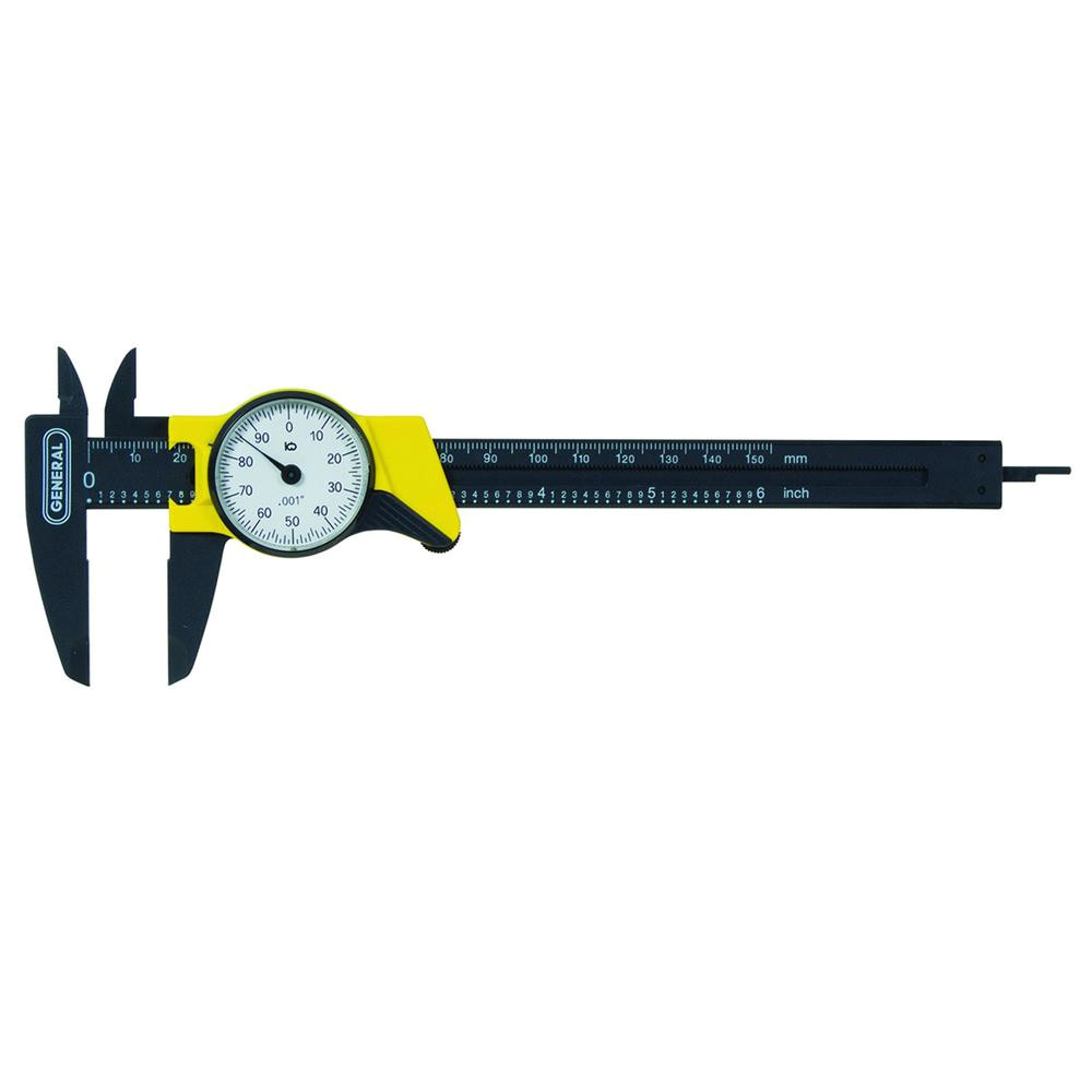 6 in single rotation dial caliper
