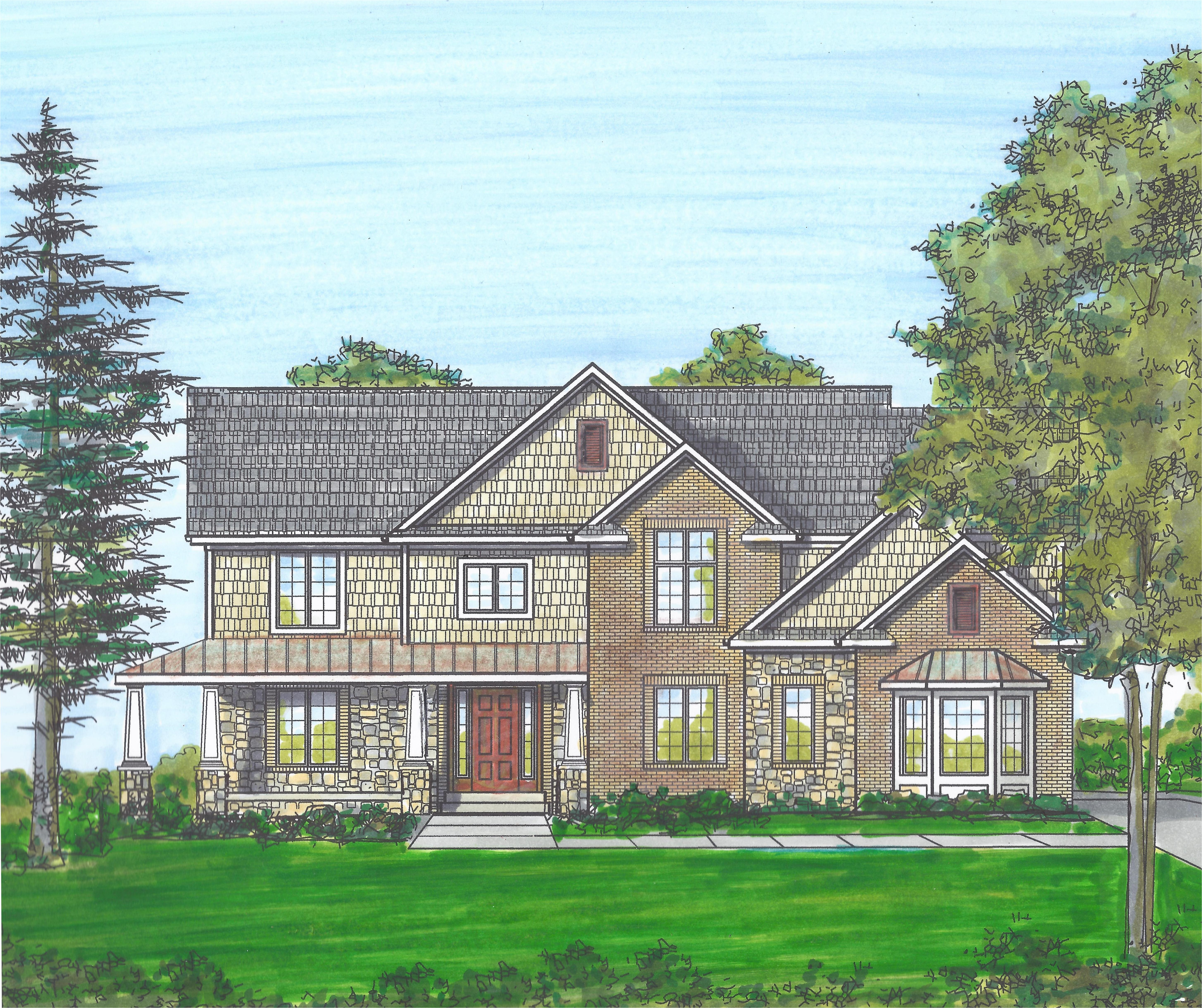 hidden lake estates in south lyon mi new homes floor plans by babcock homes