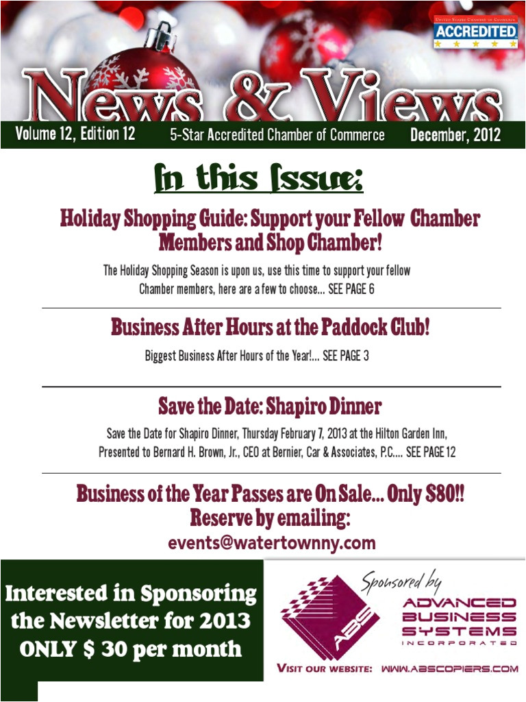 december news views newsletter from the greater watertown north country chamber of commerce electronic health record health informatics