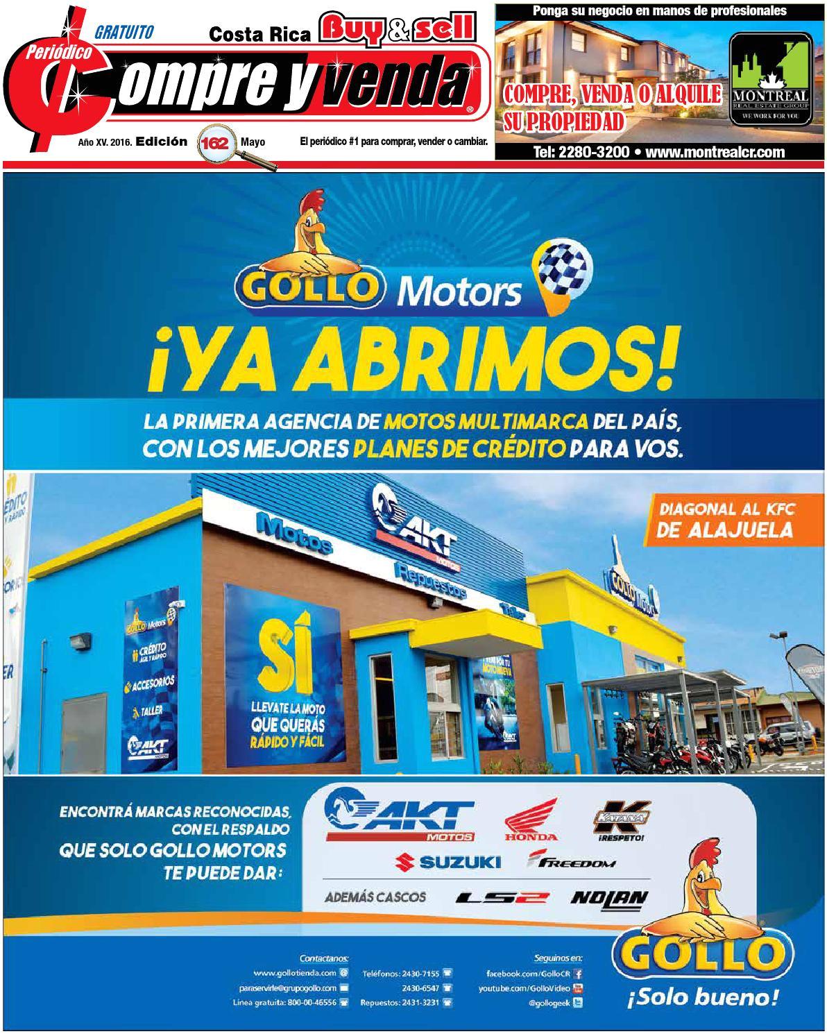 Ollas De Presion Walmart Costa Rica Peria Dico Compre Y Venda Edicia N 162 Del Mes De Mayo Del 2016 by