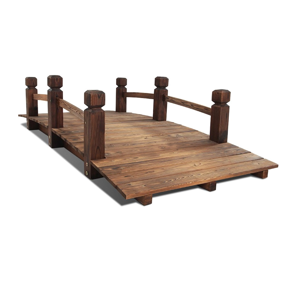 wooden rustic bridge 160cm