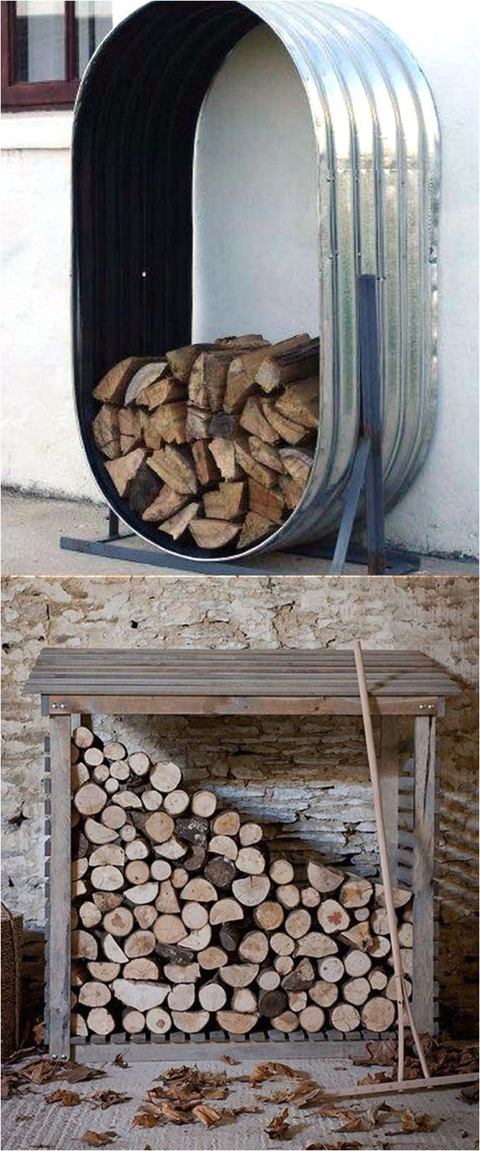 15 firewood storage and creative firewood rack ideas for indoors and outdoors lots of great building tutorials and diy friendly inspirations