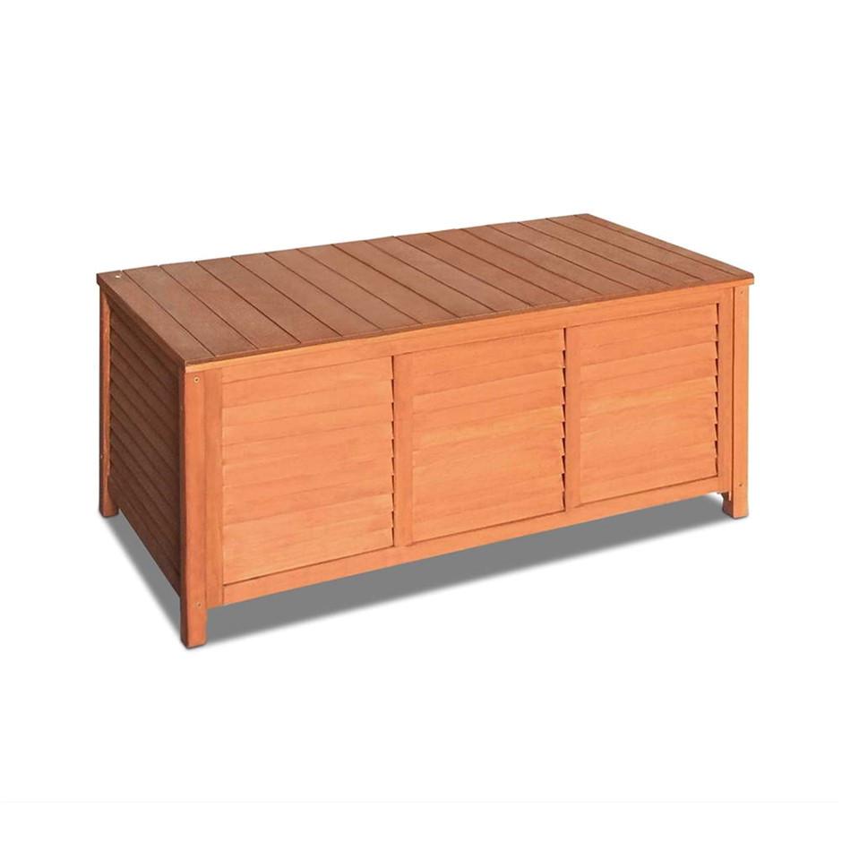 gardeon outoor fir wooden storage bench
