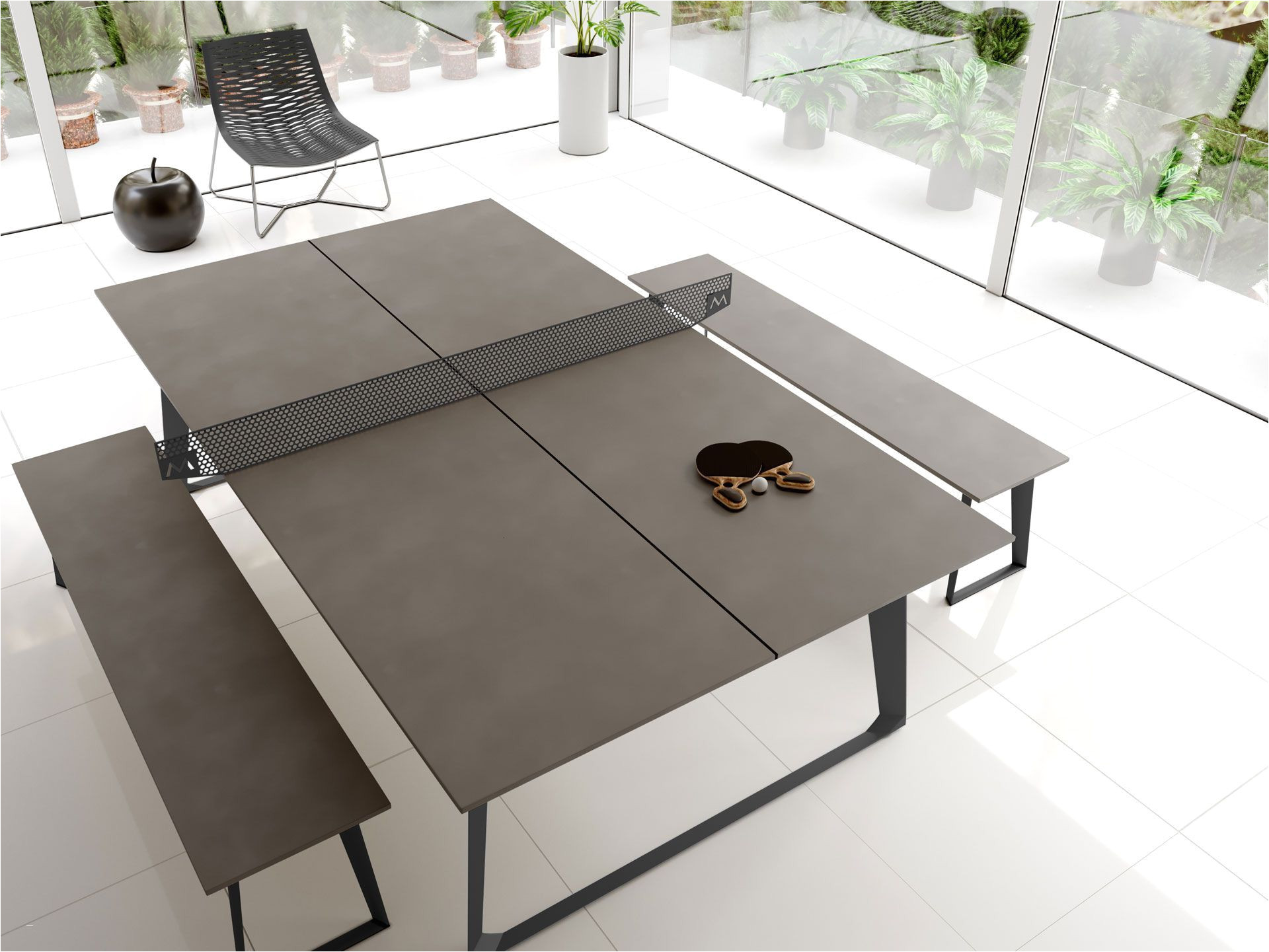 outdoor concrete dining table best of modloft amsterdam table tennis de ght pptblc od ficial store