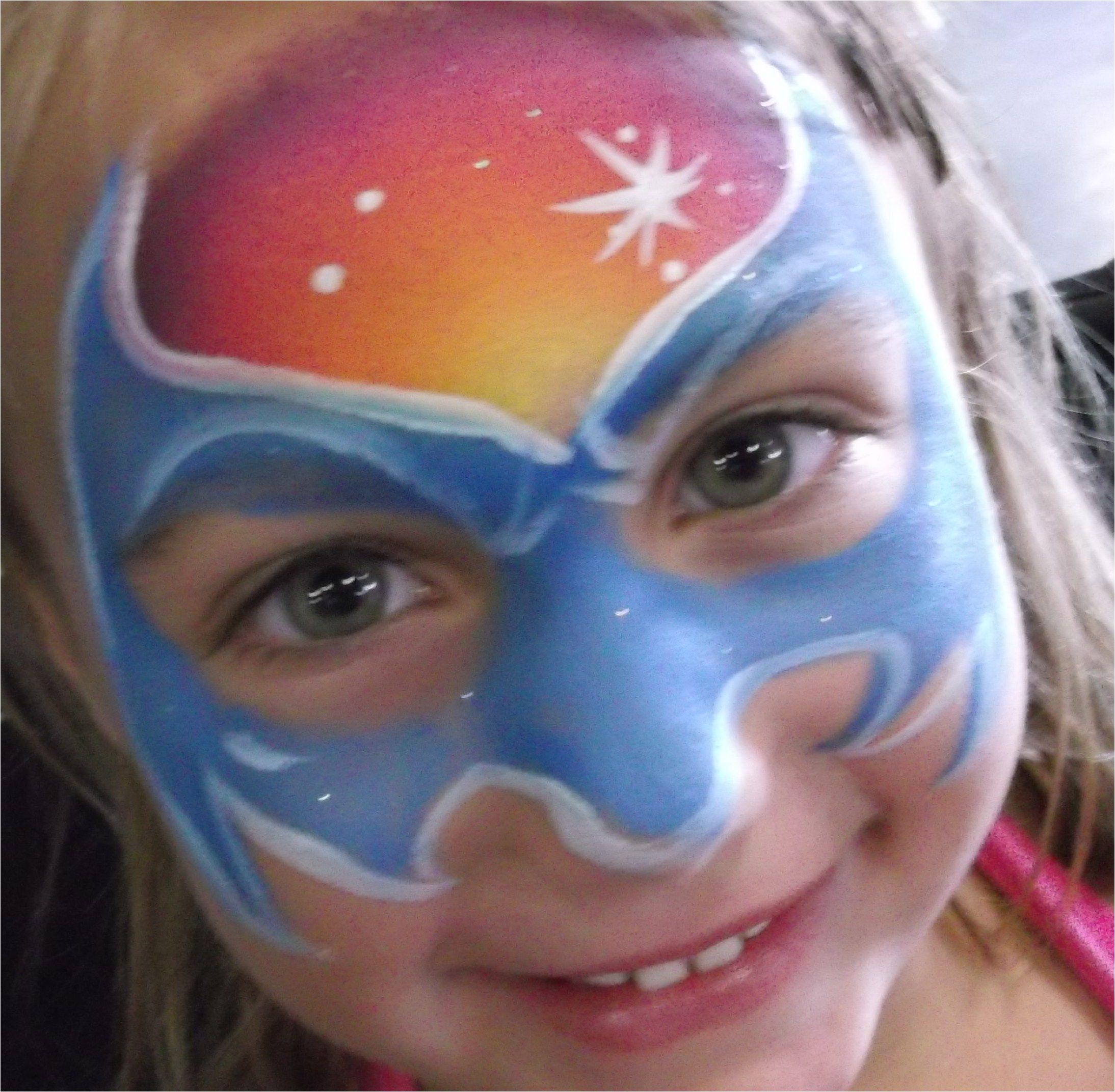 batgirl face painting jacksonville fl