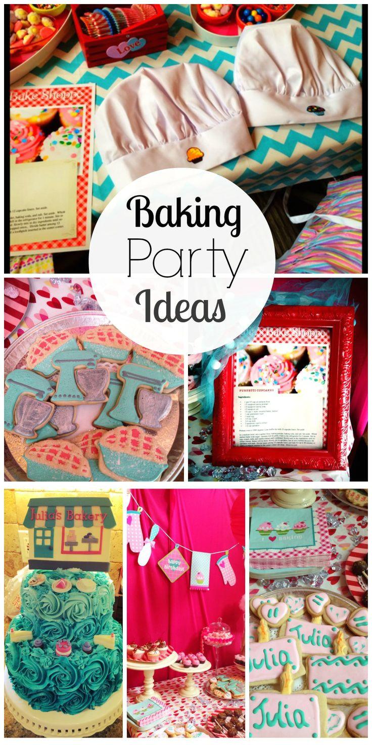 baking birthday baking party