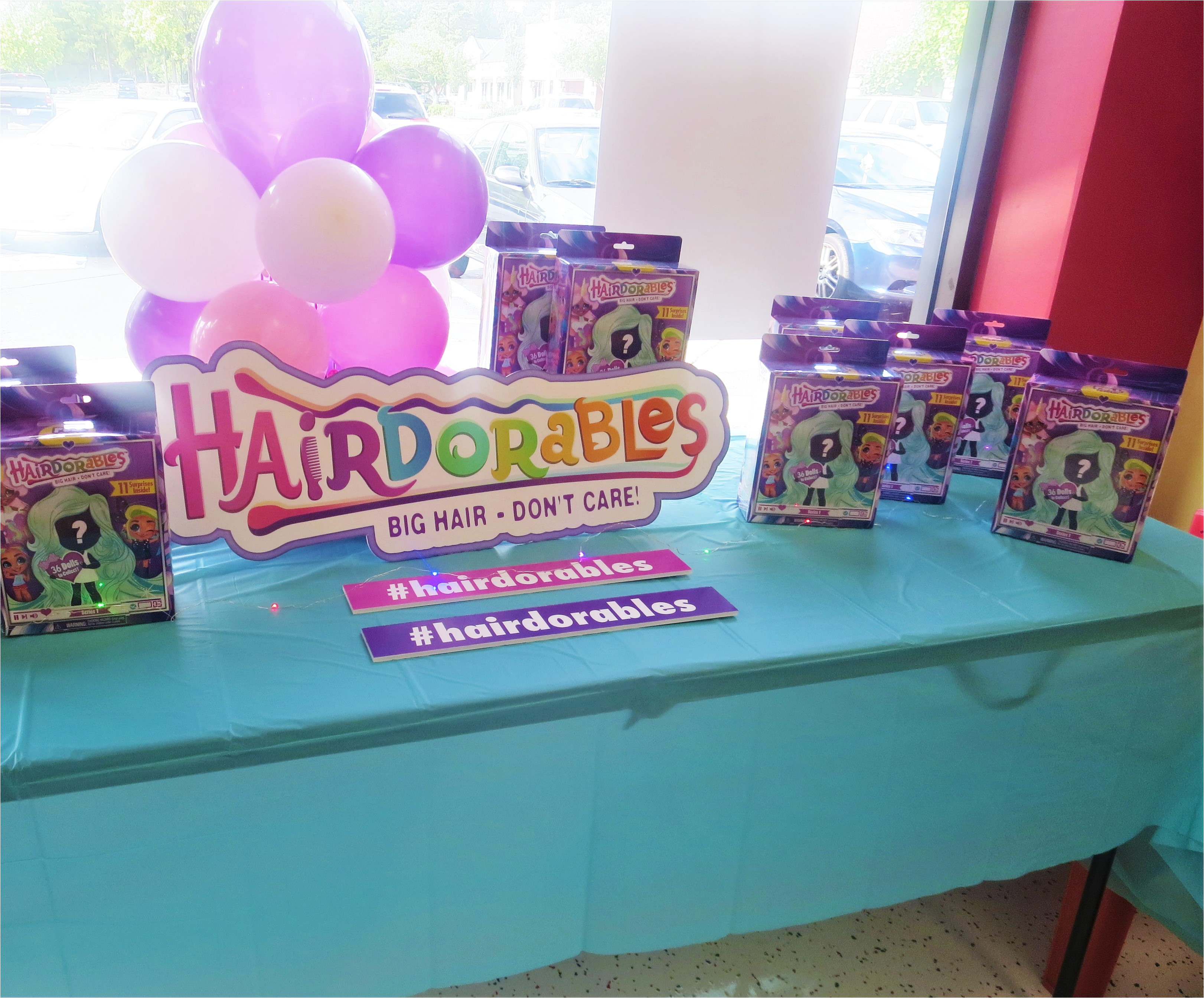 discovering the hairdorables on our own was so much fun that we couldn t wait to share these adorable dolls with our friends our hairdorables launch party