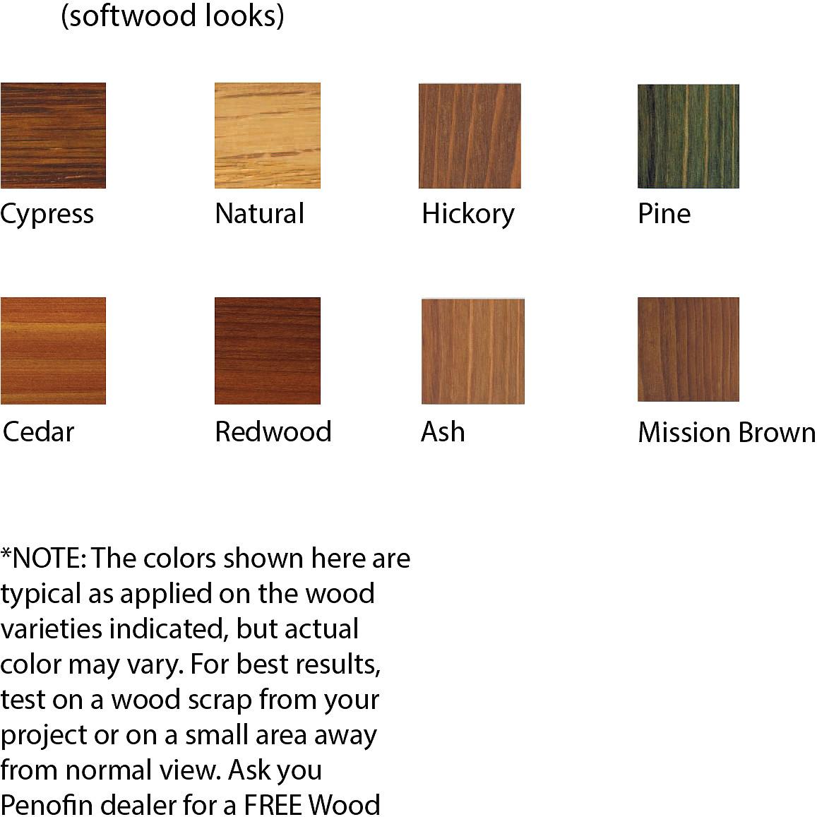 penofin verde softwood looks