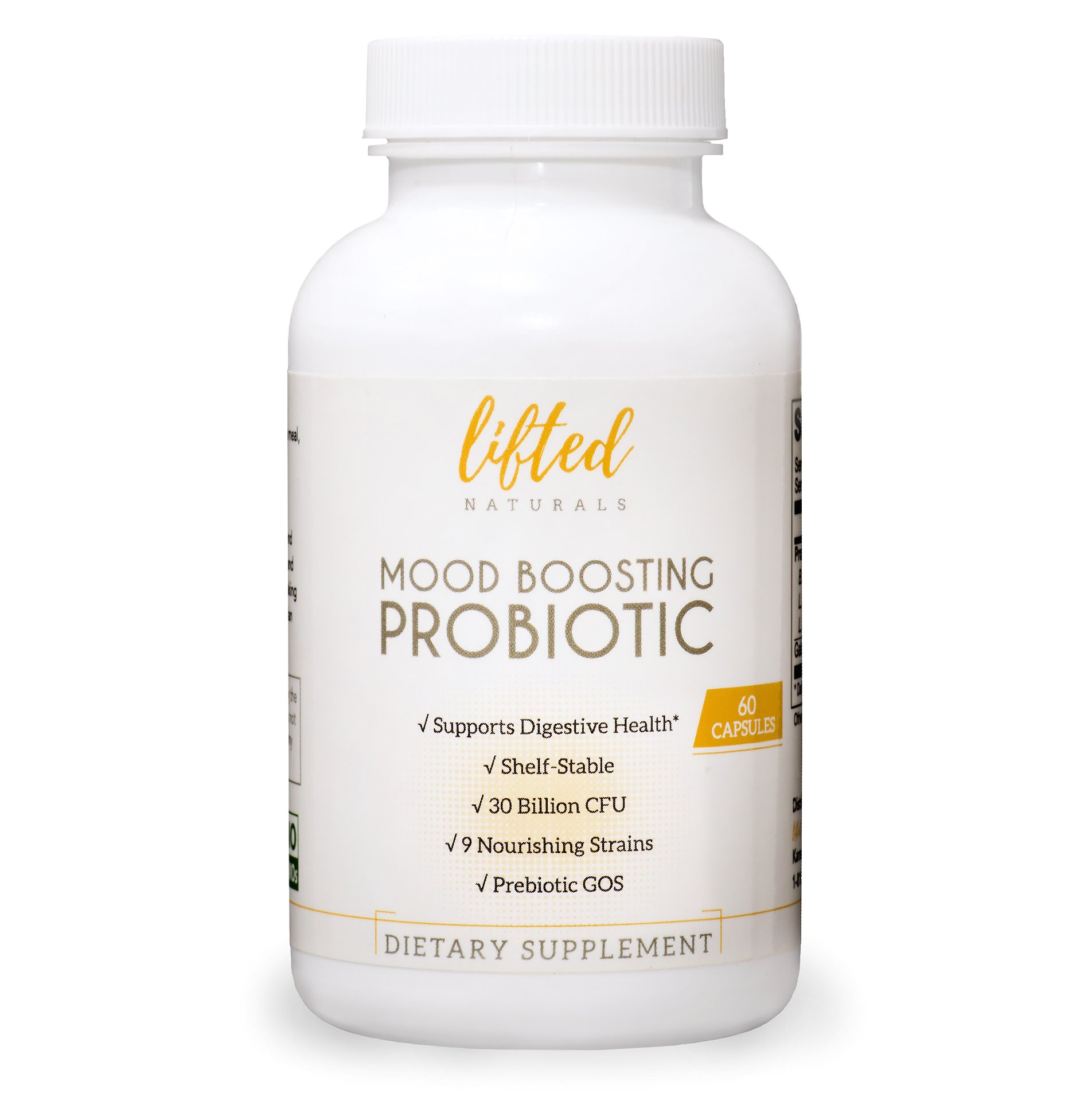 Perfect Biotics Probiotic America Side Effects Amazon Com Probiotic Mood Boosting Probiotic Anxiety formula W