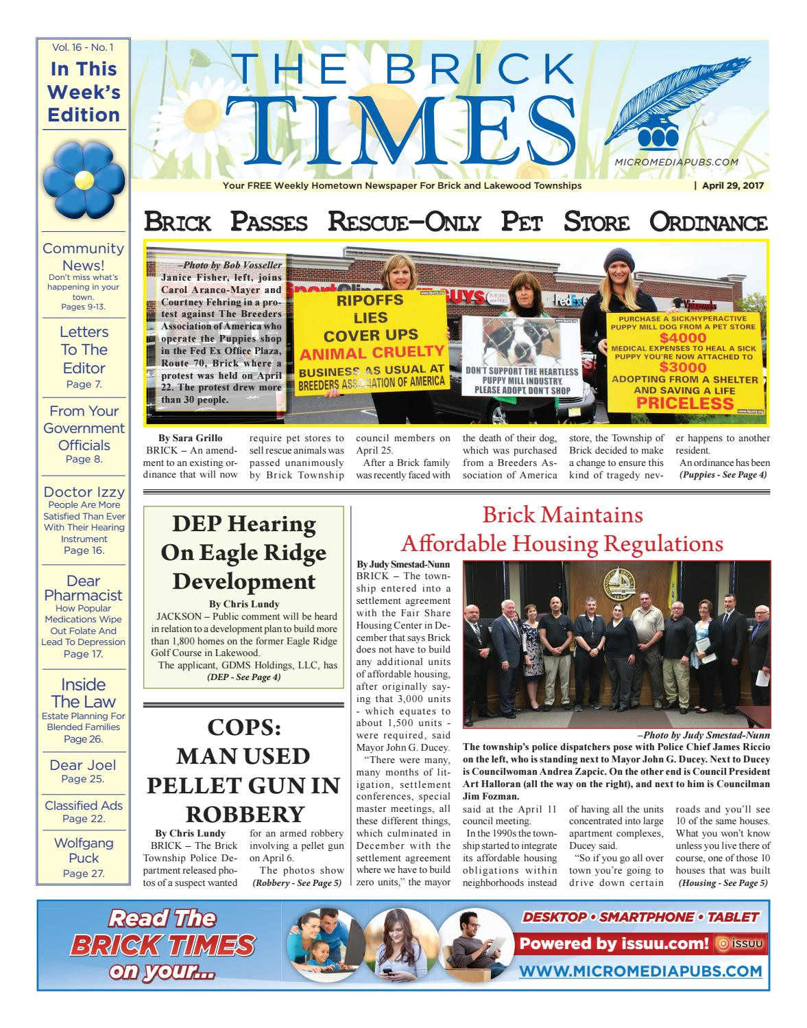 2017 04 29 the brick times by micromedia publications jersey shore online issuu