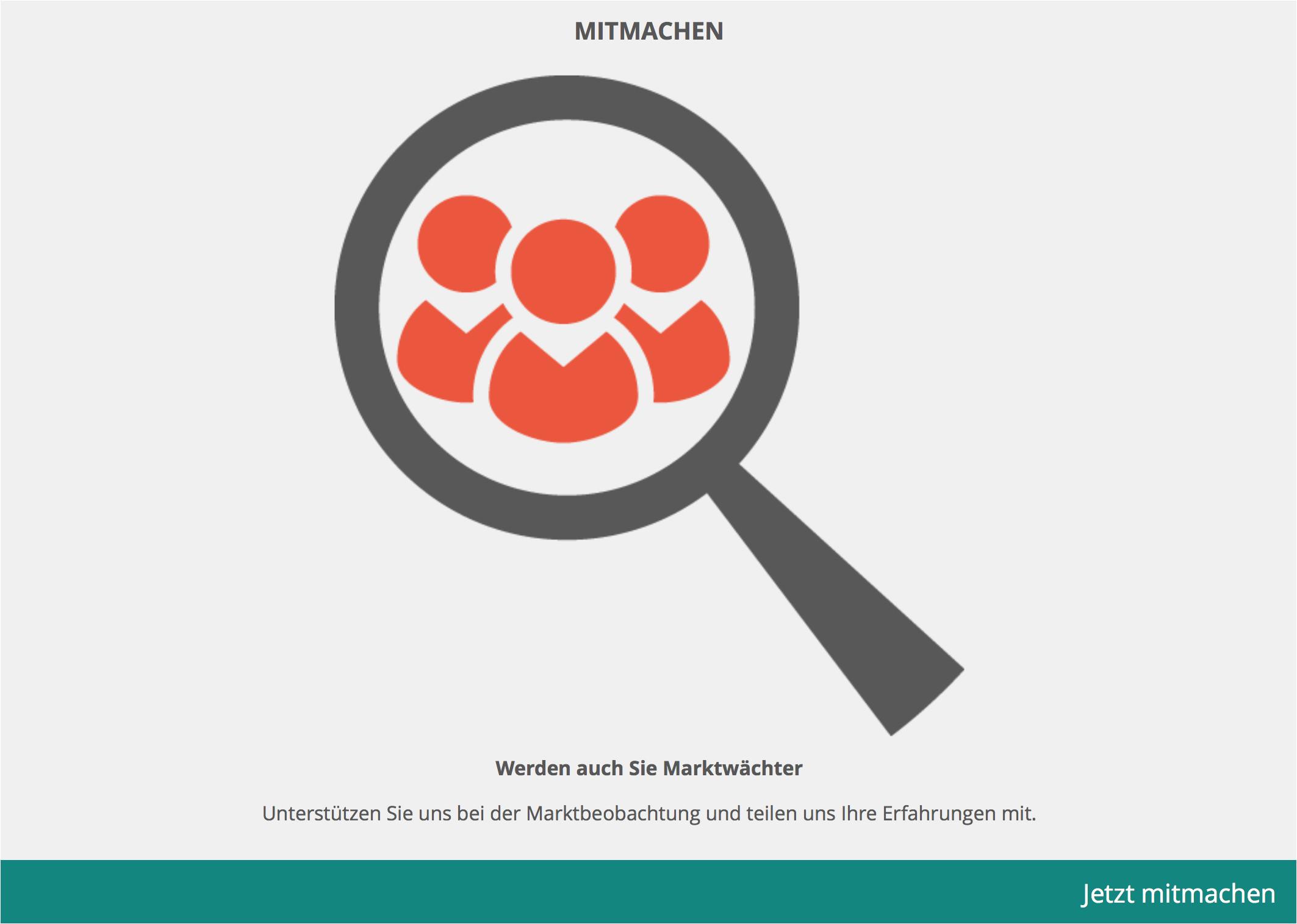 screenshot www marktwaechter de