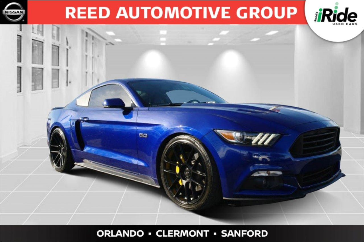 used 2016 ford mustang in orlando fl