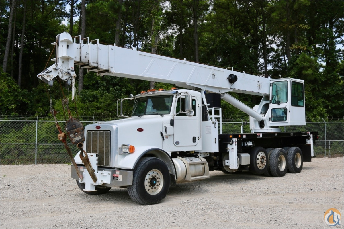 sold used altec ac38 127 od ws on 2011 peterbilt 385 chassis crane for