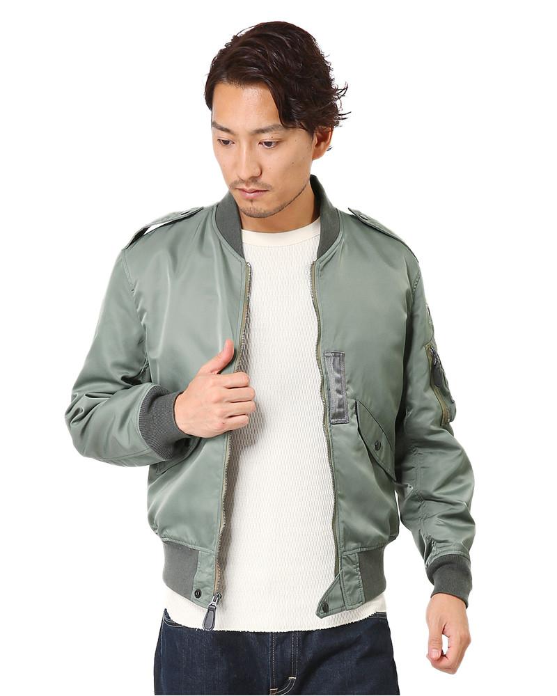 houston houston us army l 2 flight jacket od wip