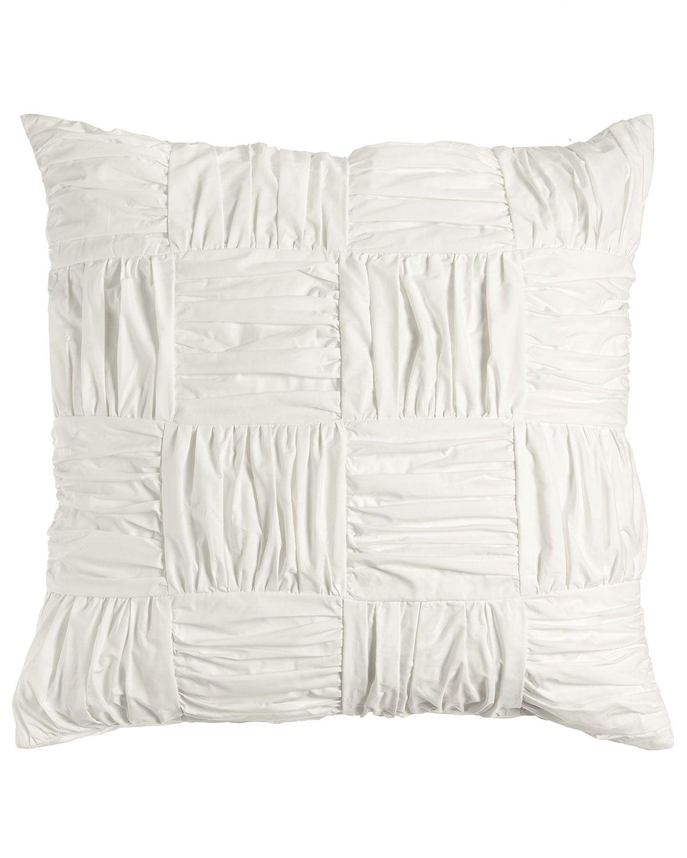 Pillow Sham Vs Pillowcase Abbie European Sham White Neiman Marcus Bedding Pillowcases