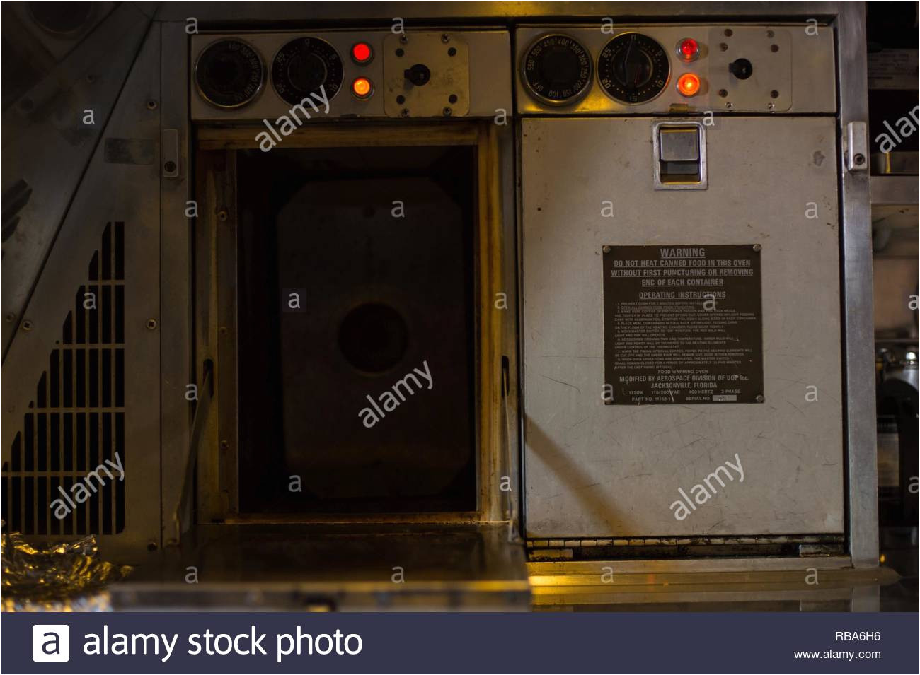 a kc 10 extender oven is heated for a holiday meal during a sortie supporting