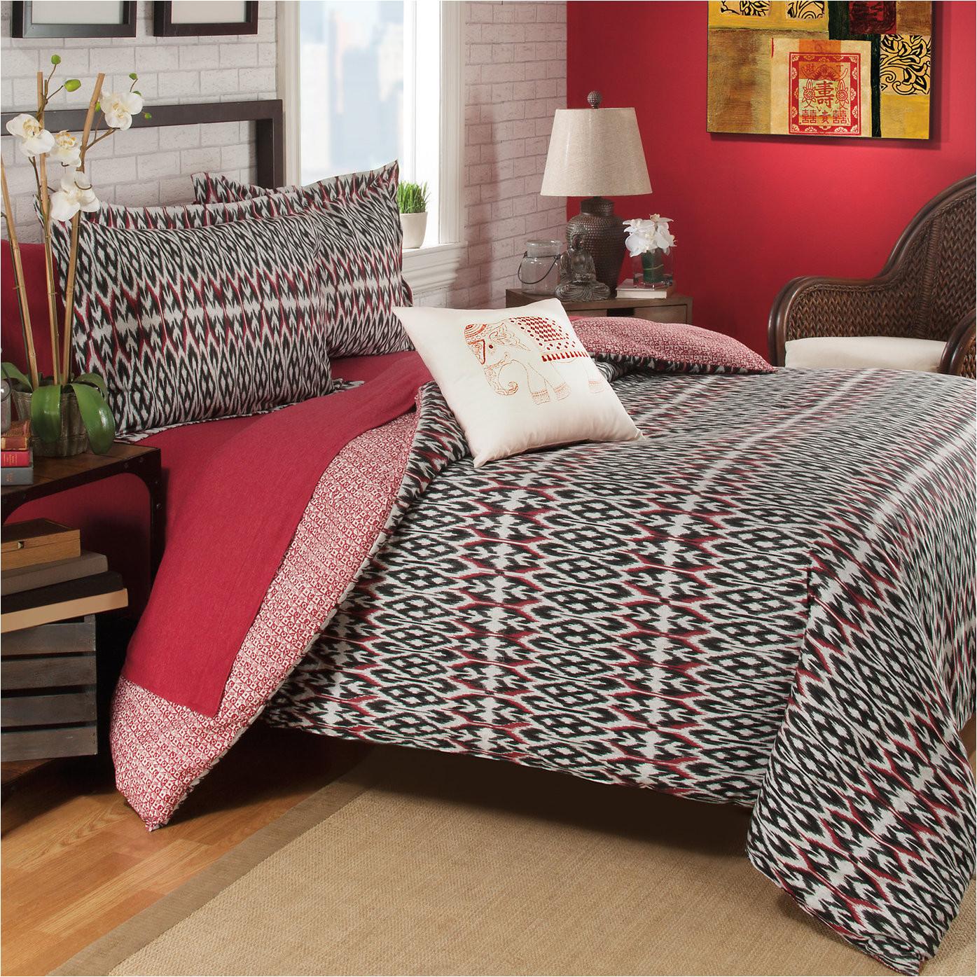 aviana 100 cotton reversible comforter set jpg