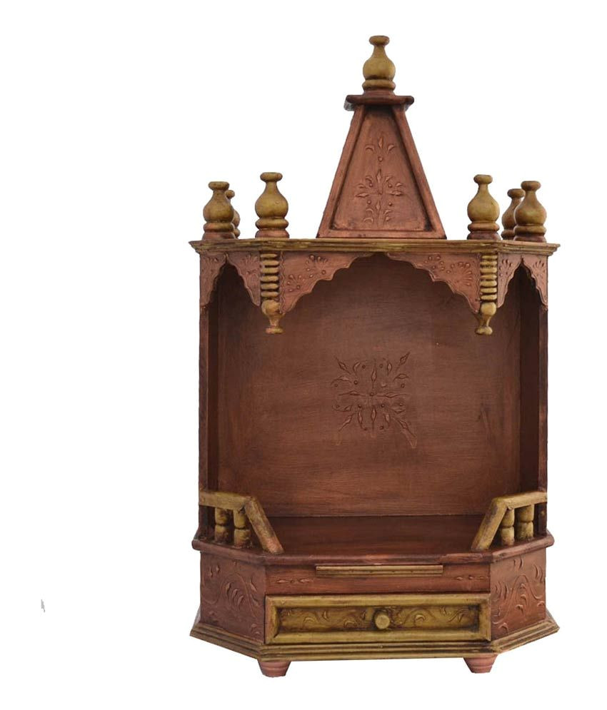 jodhpur handicrafts brown wooden mandir sdl721293443 1 e9b37 jpg