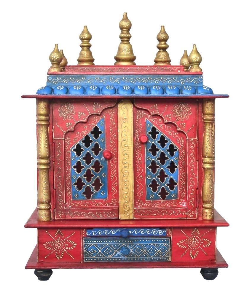 jodhpur handicrafts brown wooden mandir sdl595486561 1 f29eb jpg