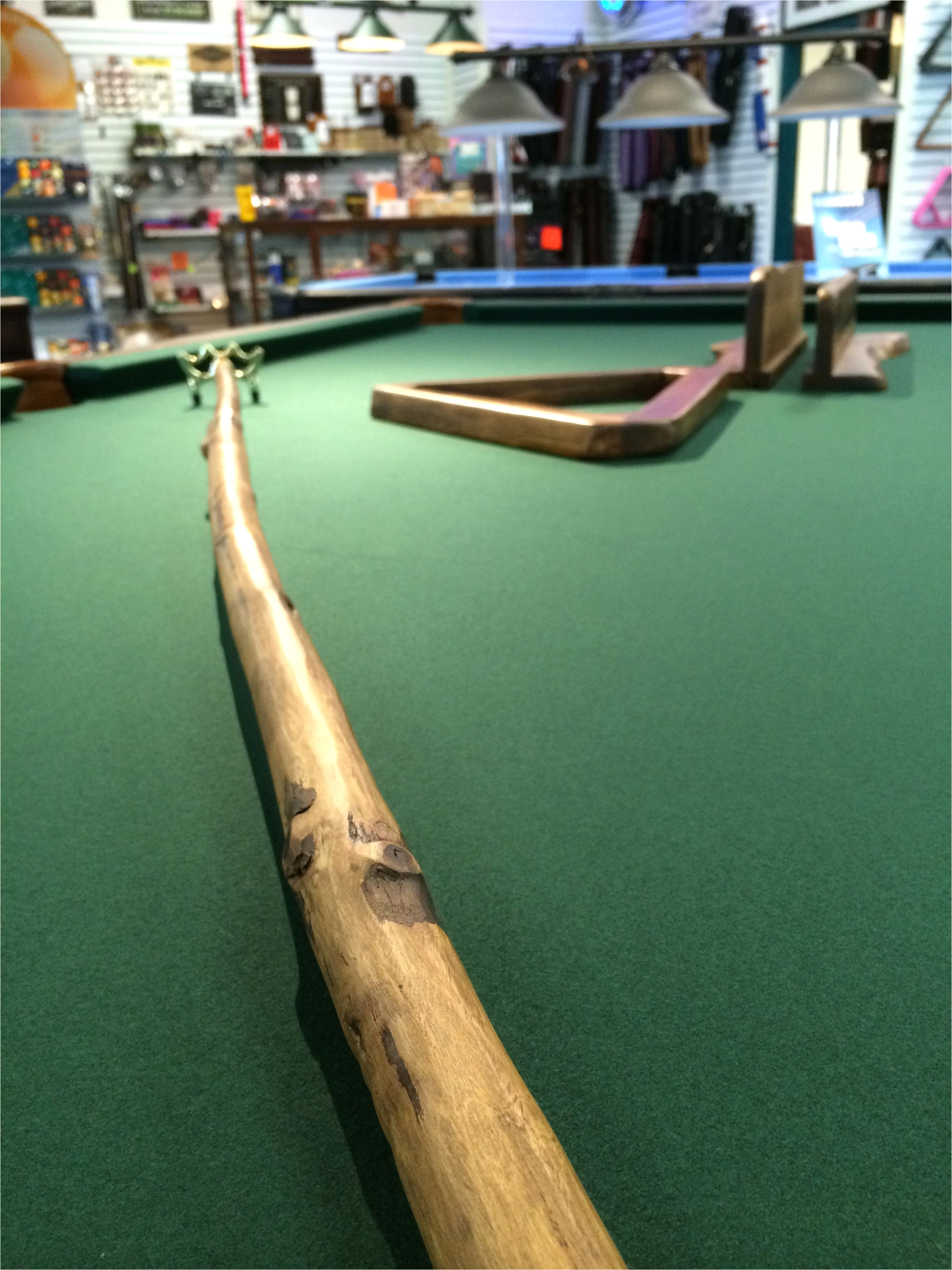 pool billiard einzigartig every rustic style pool table needs a rustic style bridge cue and