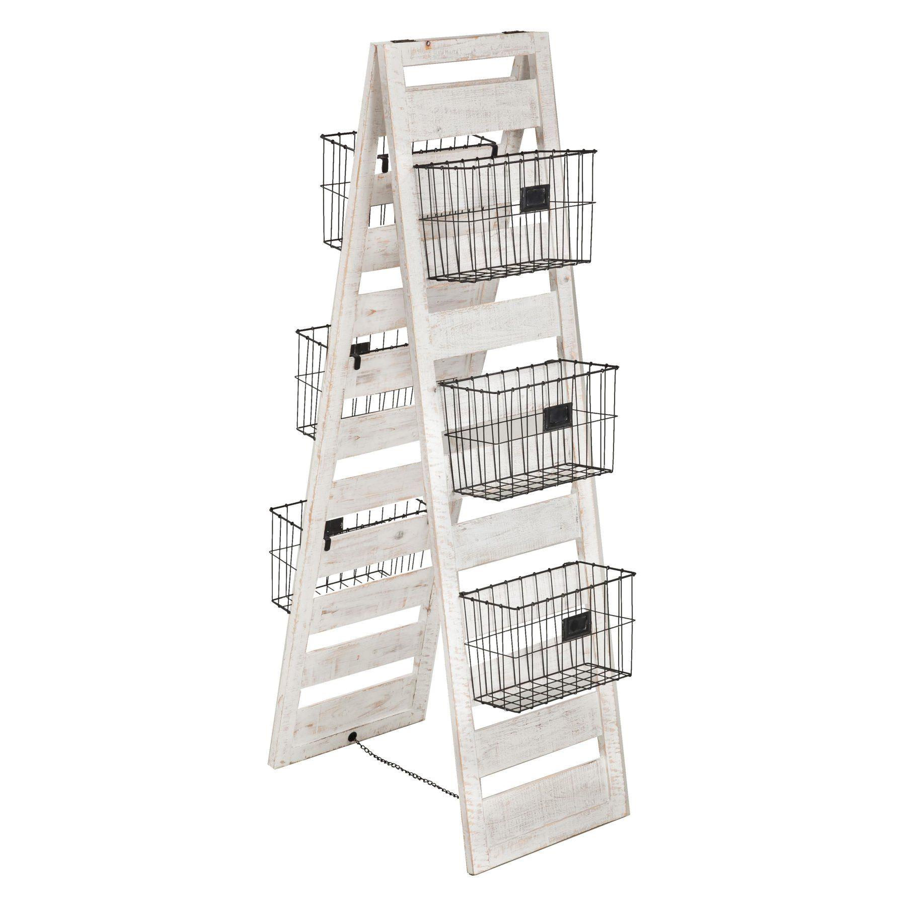 evergreen enterprises double sided wooden ladder storage rack 8f00156