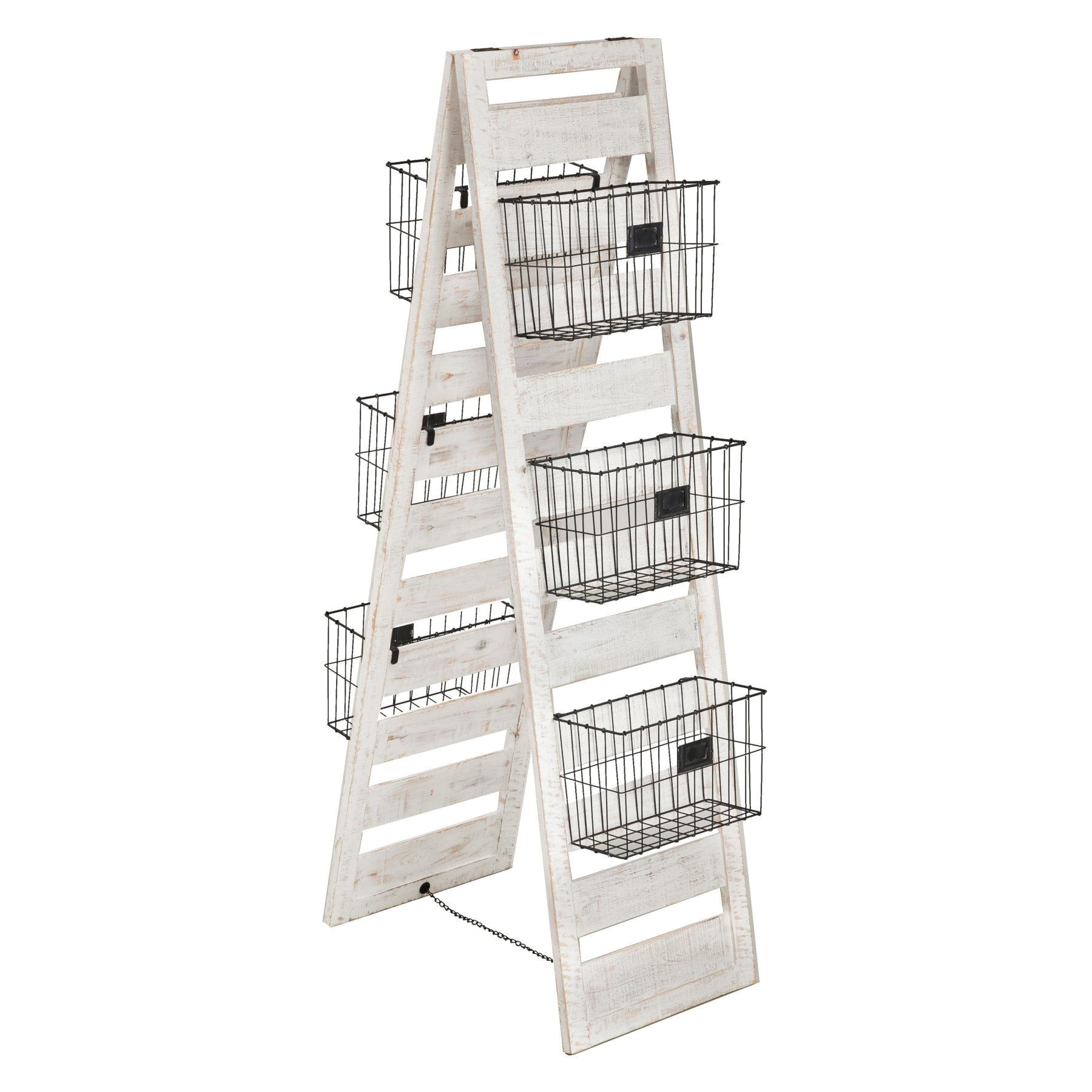 evergreen enterprises double sided wooden ladder storage rack 8f00156