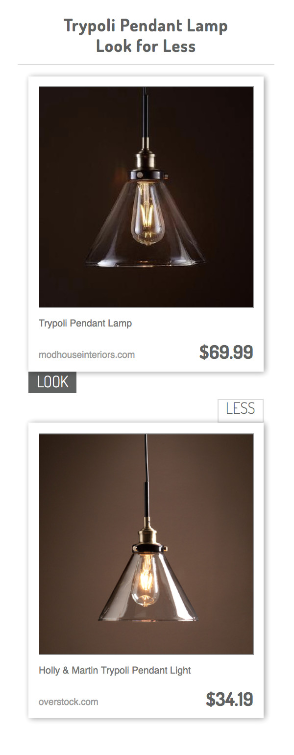 trypoli pendant lamp vs holly martin trypoli pendant light