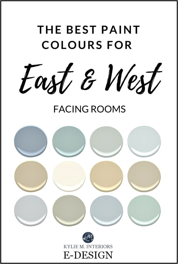 the best paint colour for east west facing exposure rooms benjamin moore
