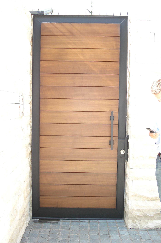 puerta especial fierro forjado y madera puertas laterales ventanas de madera puertas exterior
