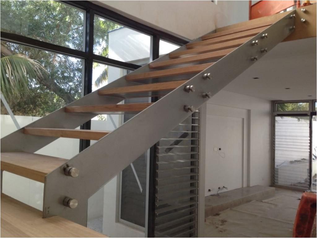 use prefab steel stairs