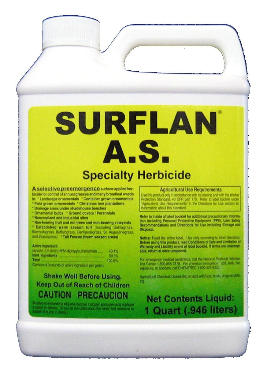 amazon com southern ag surflan a s specialty herbicide pre emergent herbicide with oryzalin 8oz industrial scientific