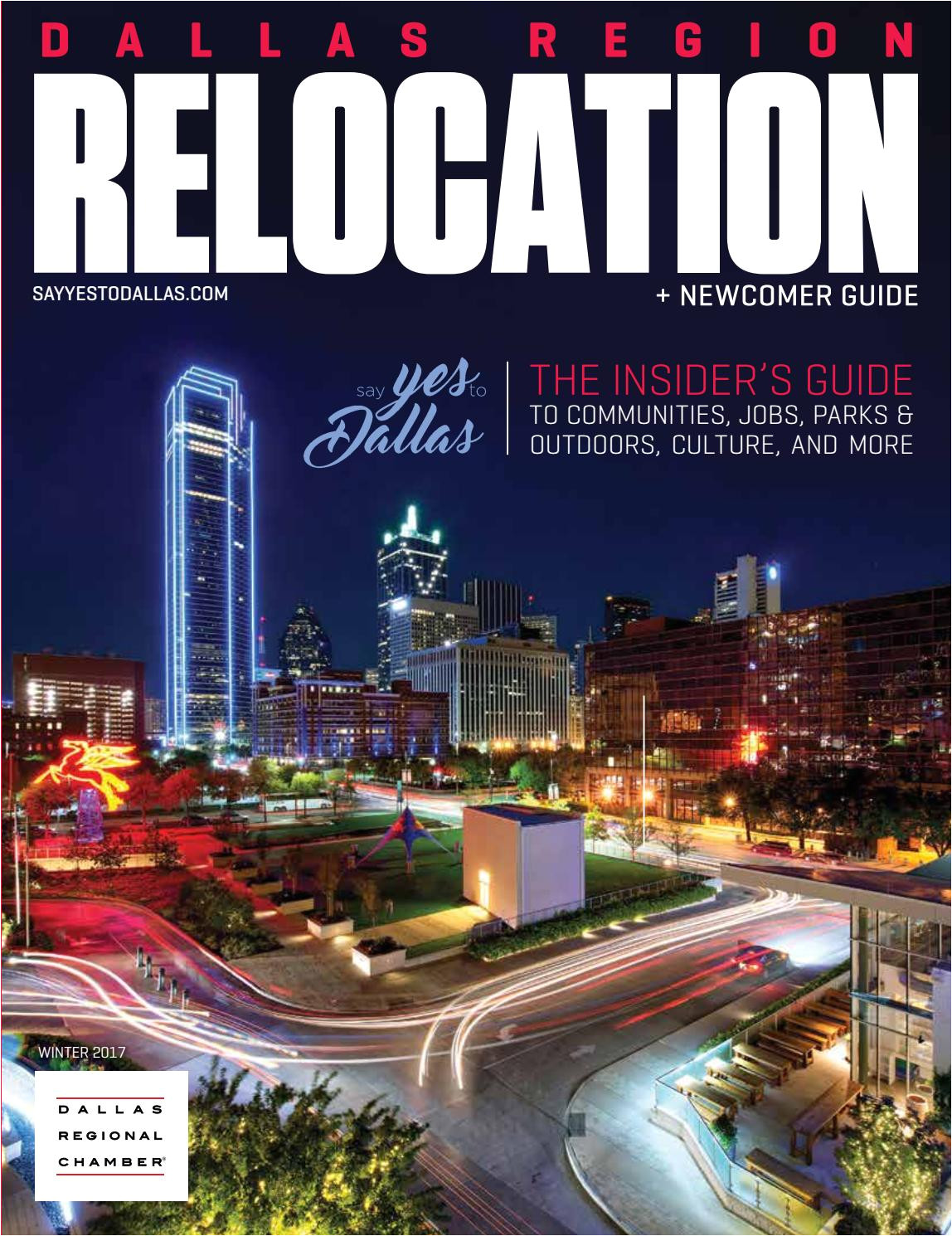 dallas region relocation newcomer guide winter 2017 by dallas regional chamber publications issuu