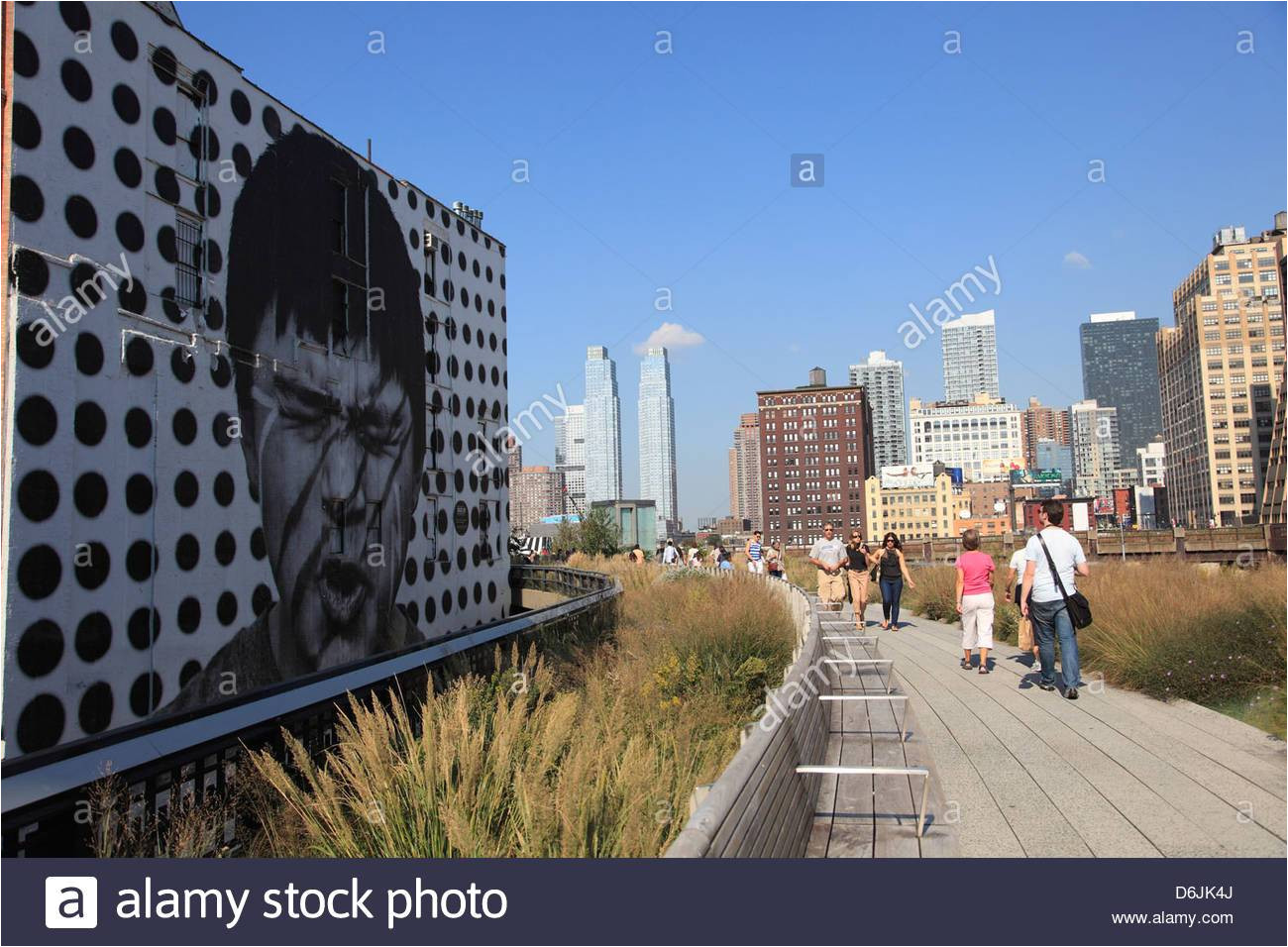 high line park elevated public park on former rail tracks manhattan new york city united states