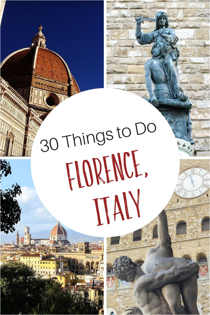 30 things to do in florence italy