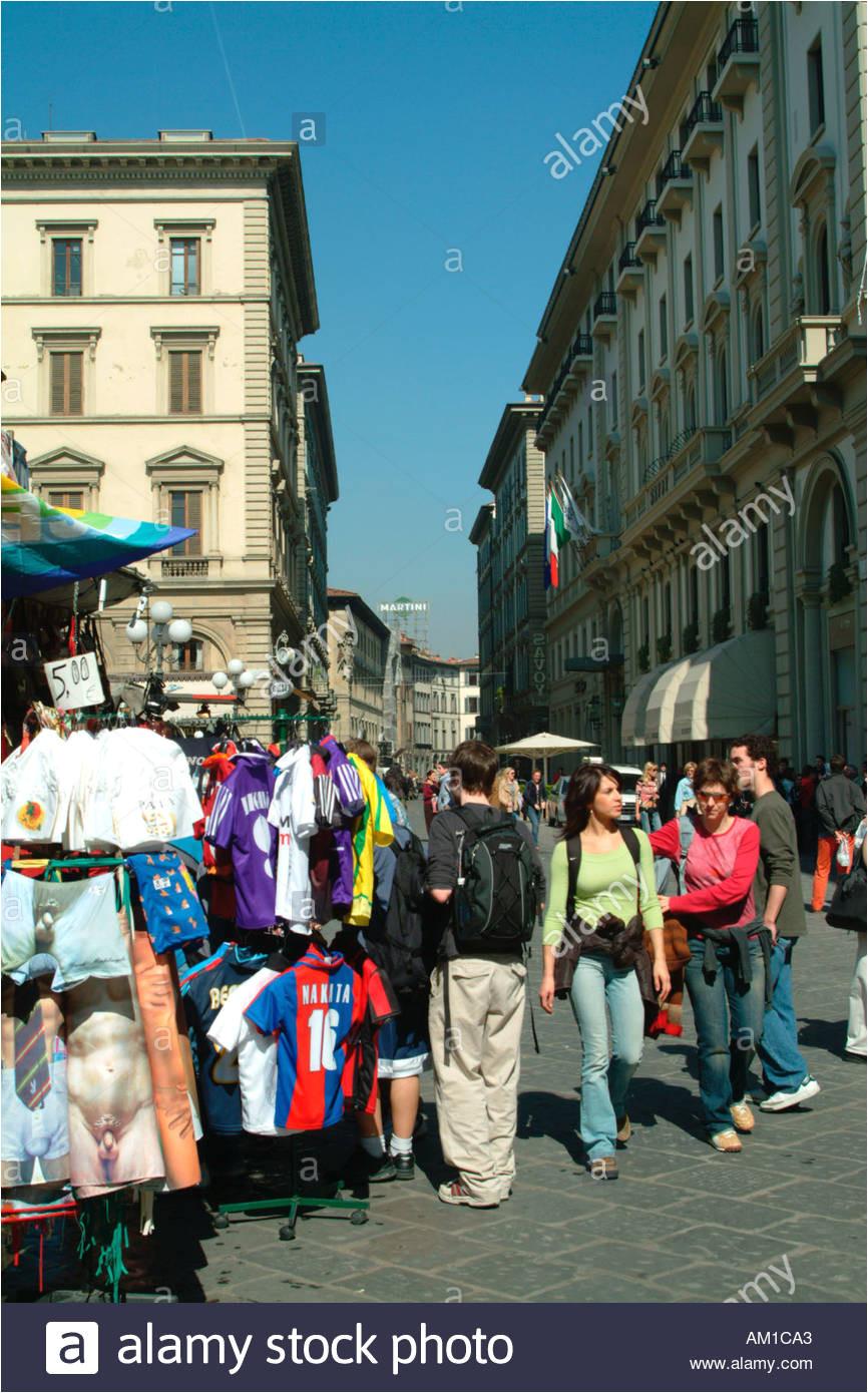 piazza della repubblica florence italy stockbild