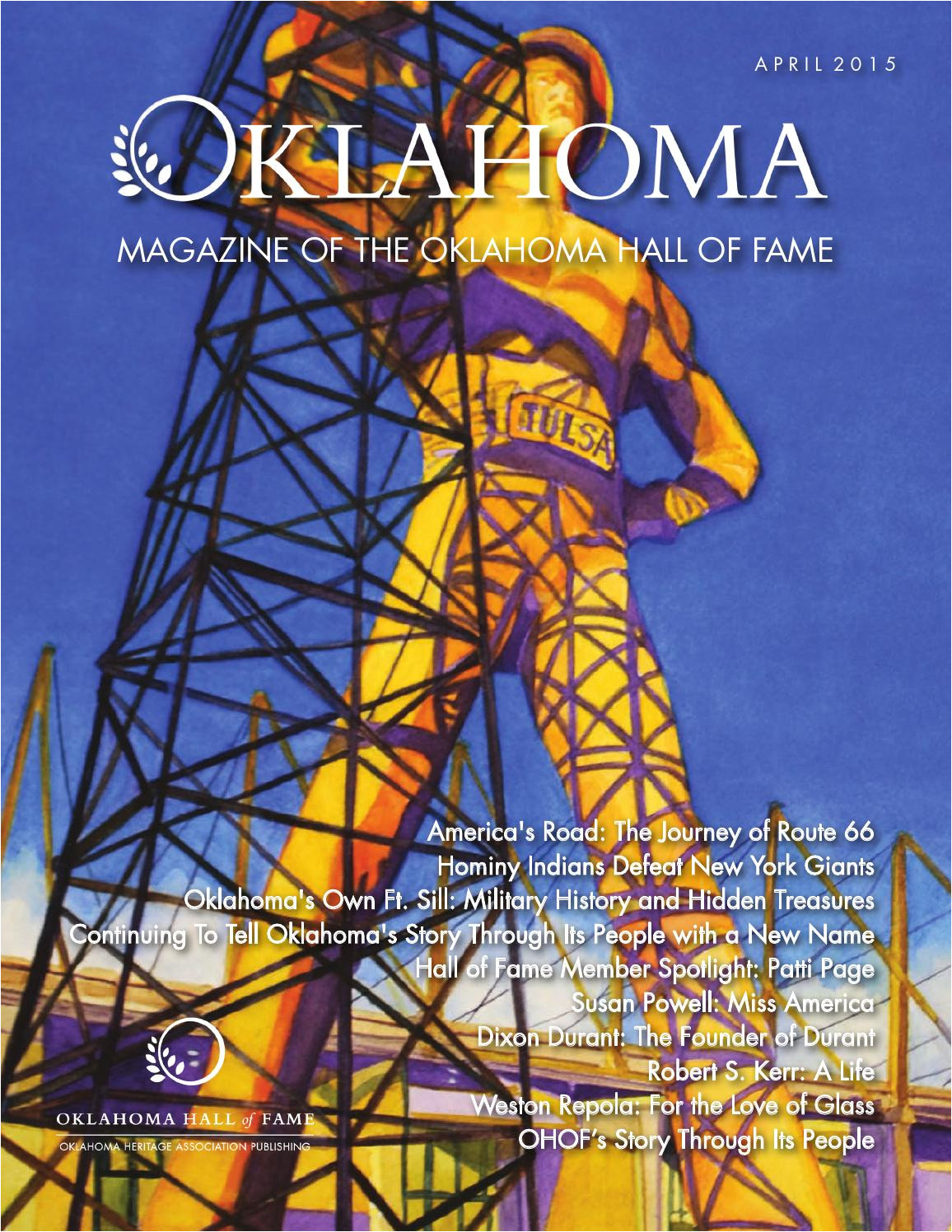 oklahoma magazine of the oklahoma hall of fame by oklahoma hall of fame issuu