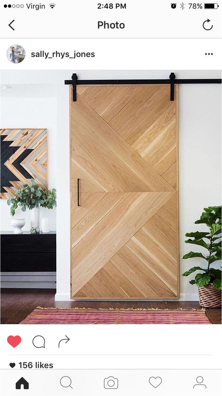 Puertas De Madera Para Closet Home Depot Barn Door Herringbone Detail Stacey Clare Doors Pinterest