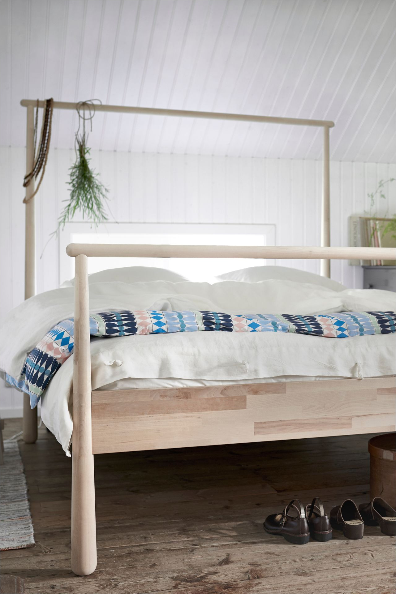 when is a bed more than a bed when it s a gja ra bed with a solid birch frame that can be a clothes hangar room divider or anything you can think of