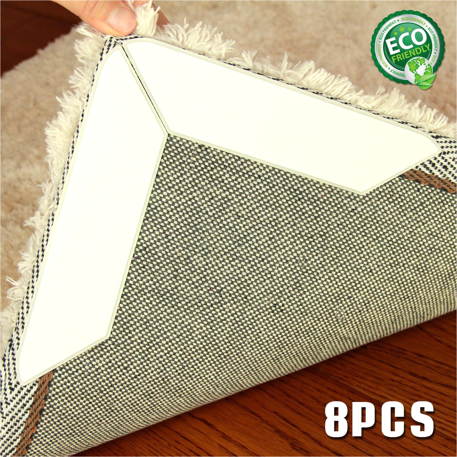 flatten carpet corners and stop slipping use non residue gel ideal alternative to rug pad for wood and all