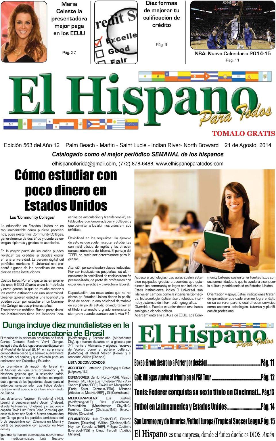 elhispanoflorida gmail com 772 878 6488 www elhispanoparatodos