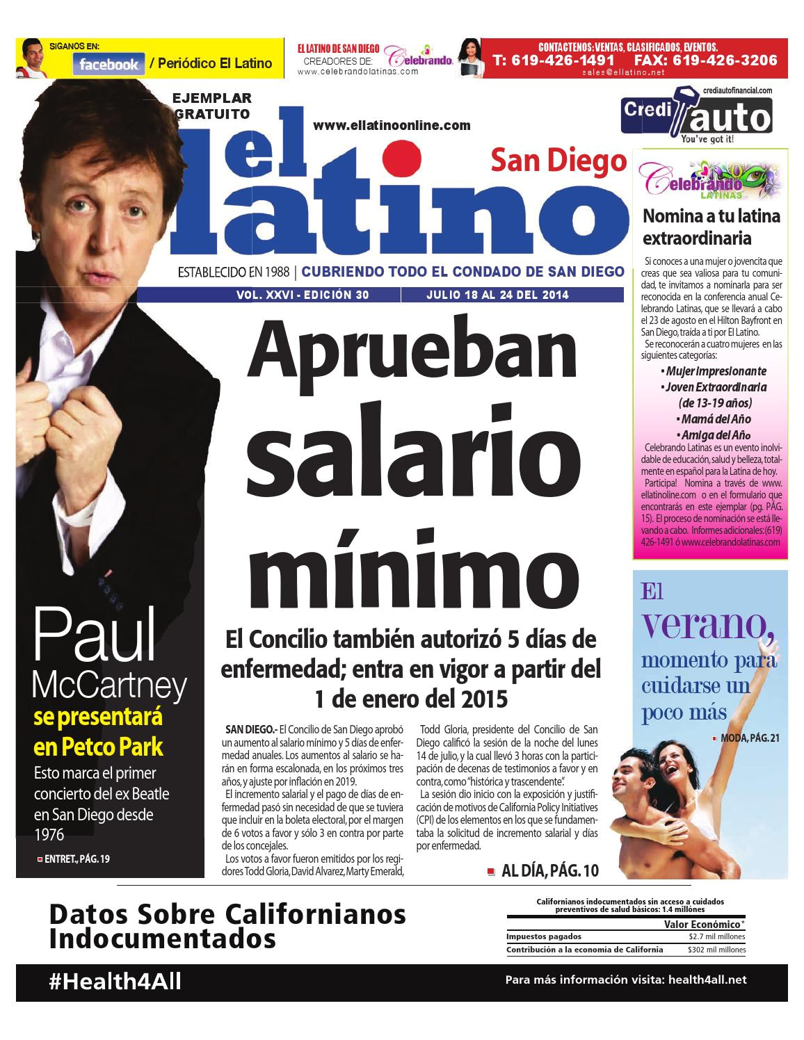 el latino newspaper de san diego ed 30 by el latino san diego newspaper issuu