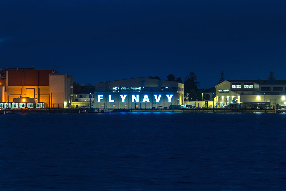 san diego fly navy at night