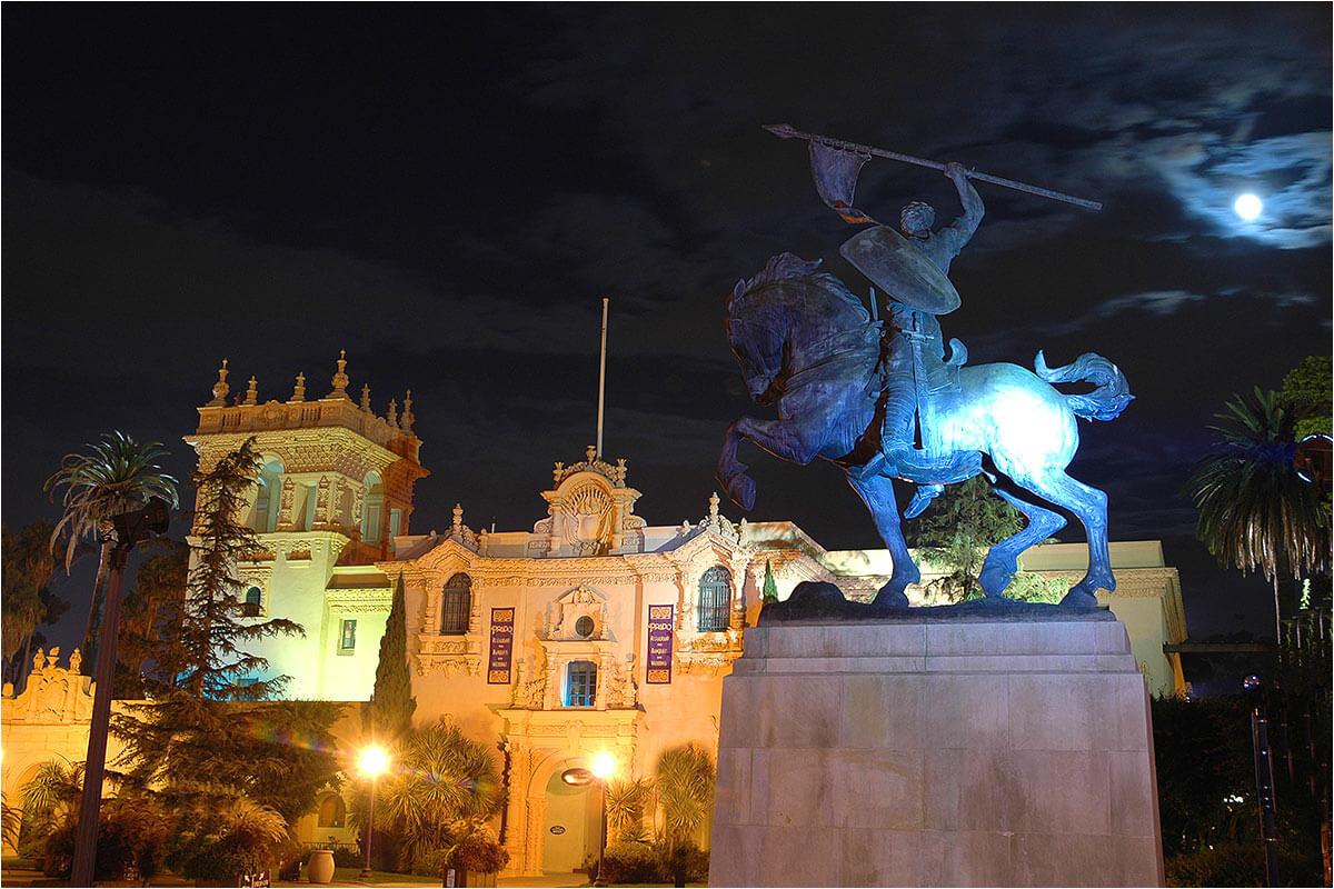 san diego night tour balboa park