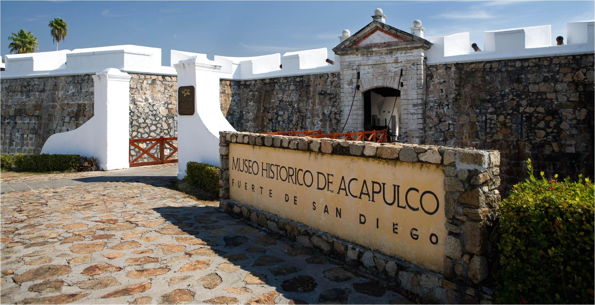 actividades principales guerrero acapulco visita el fuerte de san diego 01 jpg