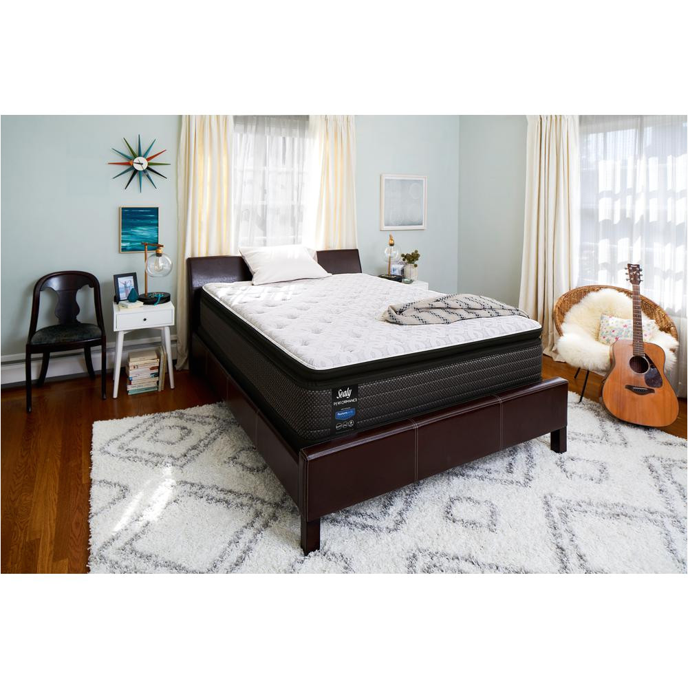 response performance 13 5 in queen cushion firm euro pillowtop mattress with