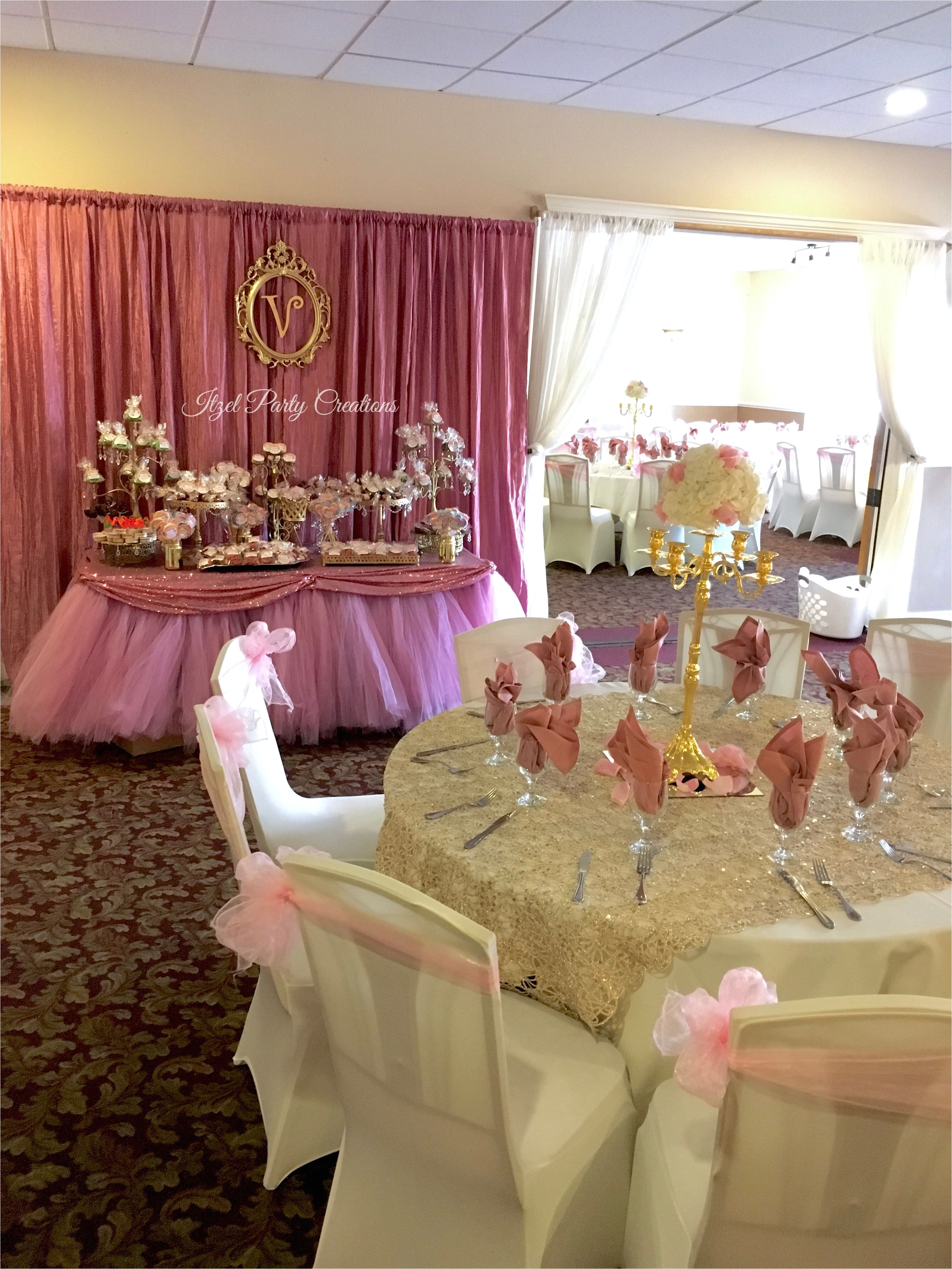 quinceanera ideas dusty rose gold quinceaa era quince decorations quinceanera decorations great gatsby party cupcake